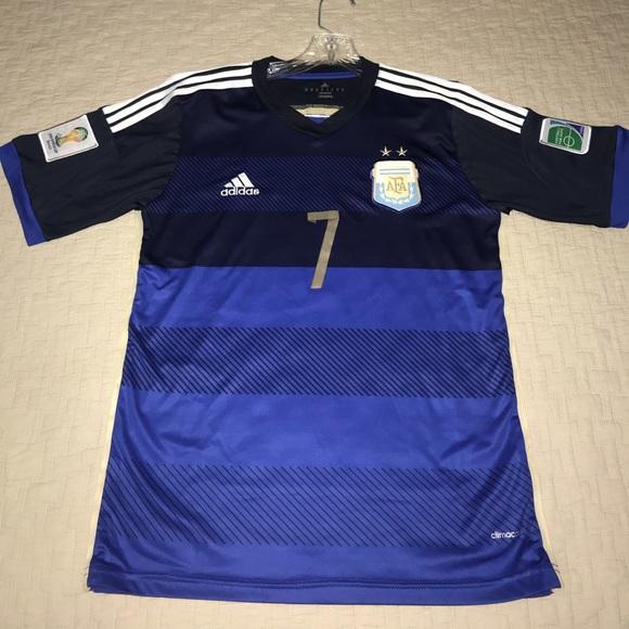 5dc773fdab2 adidas Shirts | Argentina Away Jersey | Poshmark